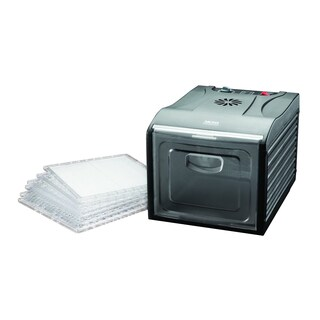 Aroma Professional 6 Tray Black XL Electric Food Dehydrator