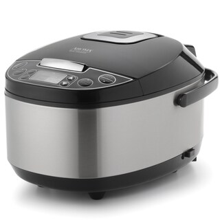 Aroma Professional Stainless Steel 12 Cup Rice Cooker