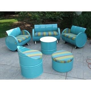 Laguna Indoor/ Outdoor Garden Patio 6-piece Conversation Set Plus