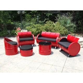 Red Loft Indoor/ Outdoor 6-piece Seating Group Plus