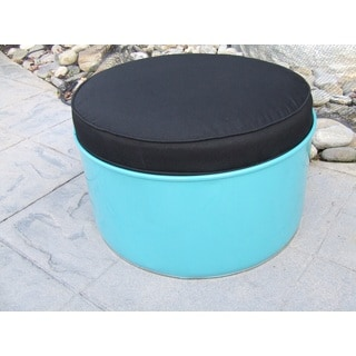 Stormy Mountain Indoor/Outdoor Ottoman