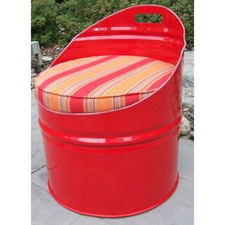 Salsa Indoor/ Outdoor Steel/ Sunbrella Fabric Club Chair