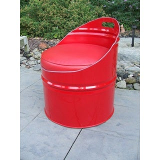 Very Red Indoor/Outdoor Club Chair