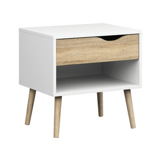 Diana Wood 1-drawer Nightstand