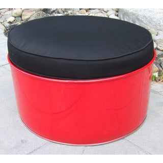 Red Loft Indoor/Outdoor Ottoman