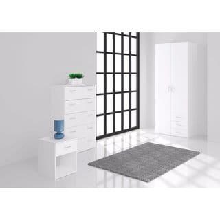 Space Wood 3-drawer/2-door Wardrobe
