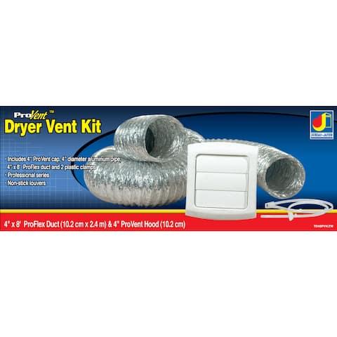 Dundas Jafine TD48PVKZW ProVent Dryer Vent Kit