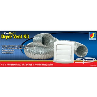 Dundas Jafine TD48PVKZW ProVent Dryer Vent Kit
