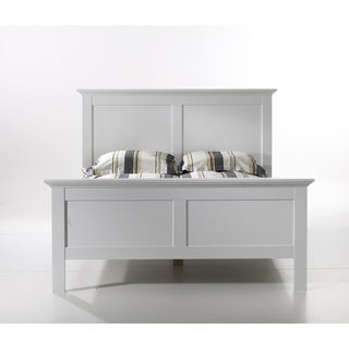 Sonoma White Wood Queen-size Bed