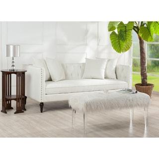 Jennifer Taylor Stanbury White Tuxedo Sofa