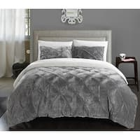 Chic Home 2-Piece Chiara Grey Comforter Set