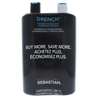 Sebastian Drench 33.8-ounce Shampoo and Conditioner Set