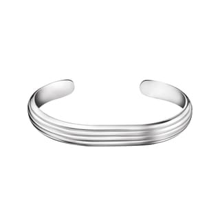 Calvin Klein Women's Stainless-steel Fractal Fashion Bracelet