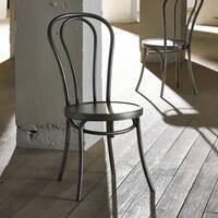 Grey Wood Bistro Chair (Set of 2)
