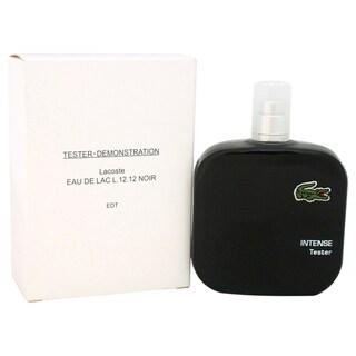 Lacoste L.12.12 Noir Men's 3.3-ounce Eau de Toilette Spray (Tester)