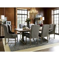 Brussels Grey Host Arm Chair