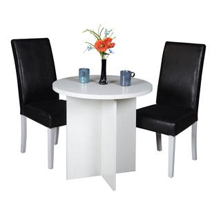 Regency Niche Modern 30-inch Round Table and 2 Tyler Dining Chairs Set|https://ak1.ostkcdn.com/images/products/12853958/P19617044.jpg?impolicy=medium