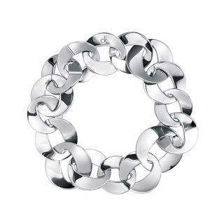 Calvin Klein Women's Pleasant Stainless Steel Fashion Bracelet