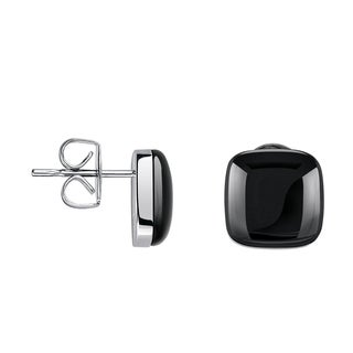 Calvin Klein Placid Women's Black Stainless Steel Fashion Stud Earrings