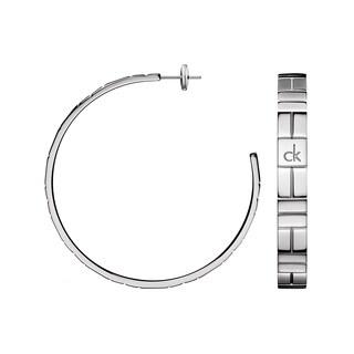 Calvin Klein Cobblestone Stainless Steel Fashion Earrings