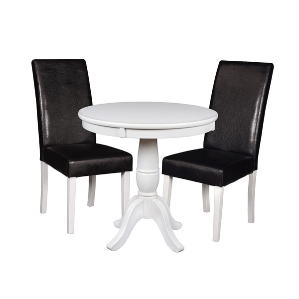 Niche Mod 30 Round Pedestal Table 2 Tyler Dining Room Chairs