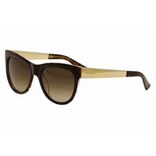 Gucci Womens GG3739/S 02EZ Cat Eye Sunglasses
