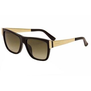 Gucci Womens GG3718/S 0ANW Rectangular Sunglasses