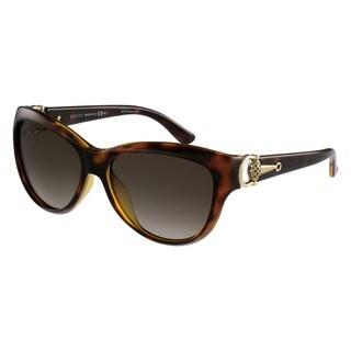 Gucci Womens GG3711/S 0Q18 Cat Eye Sunglasses