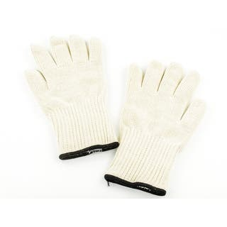 White Thermal Fabric Heat-resistant Thick Deluxe Oven Gloves|https://ak1.ostkcdn.com/images/products/12854104/P19617164.jpg?impolicy=medium