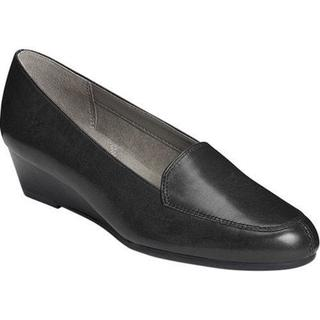 Women's Aerosoles Lovely Loafer Black Leather
