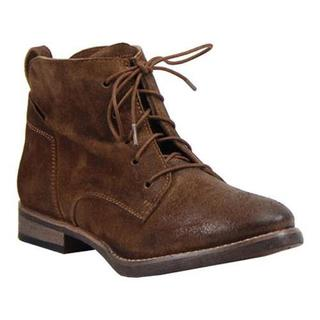 Women's Diba True Every Thing Ankle Boot Chestnut Burnished Suede