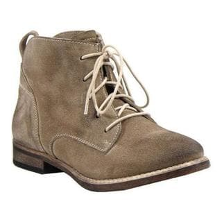 Women's Diba True Every Thing Ankle Boot Taupe Burnished Suede
