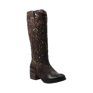 Women's Diba True What To Do Riding Boot Chocolate Leather