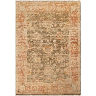 Hand-Knotted Pownal New Zealand Wool Rug (7'9 x 9'9)