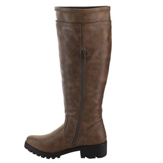 Knee-High Boots, Brown Women's Boots - Shop The Best Deals For Mar ...
