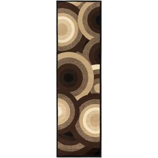 SandyCircles Indoor Area Rug (2'2 x 7'6)