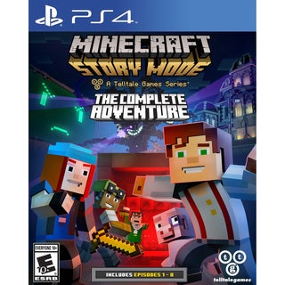 Minecraft Story Mode Complete Adventure - PS4