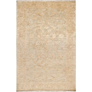 Hand-Knotted Stowe New Zealand Wool Rug (7'9 x 9'9)