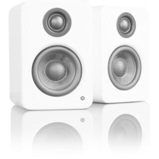 Kanto YU2 2.0 Speaker System - 50 W RMS - Desktop - Gloss White