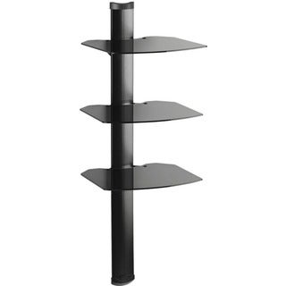 Kanto Mounting Shelf for Audio Equipment, Satellite Receiver, Cable,