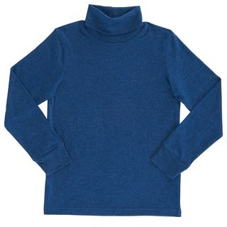French Toast Boys Cotton/Polyester Long-sleeved Basic Turtleneck