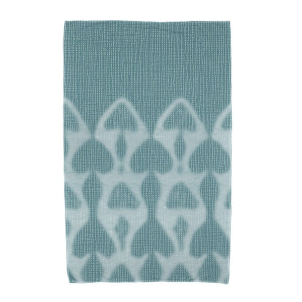 E by Design Watermark Geometric Print Beach Towel