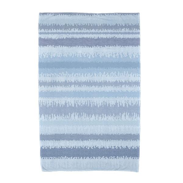 E by Design Raya De Agua Stripe Print Beach Towel