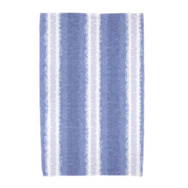 E by Design Sea Lines Stripe Print Beach Towel