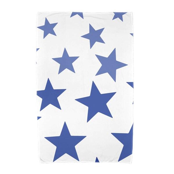 E by Design Just Stars Geometric Print Beach Towel