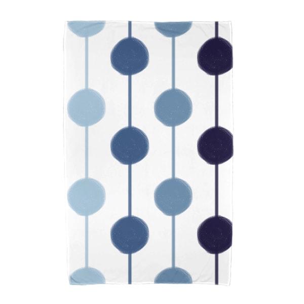 E by Design Brady Beads Stripe Print Beach Towel