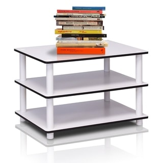 Furinno Just No Tools White/White Tube Coffee Table