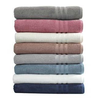 Authentic Hotel and Spa Omni Turkish Cotton Terry Oversized Bath Sheet Towels (Set of 2)