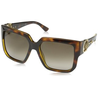 Gucci Womens GG3713/S 0Q18 Rectangular Sunglasses