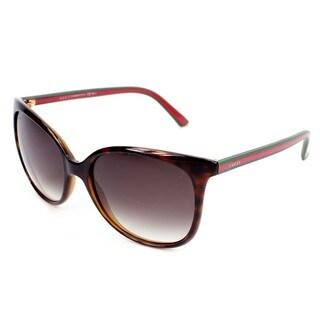 Gucci Womens GG3649/S 017L Rectangular Sunglasses